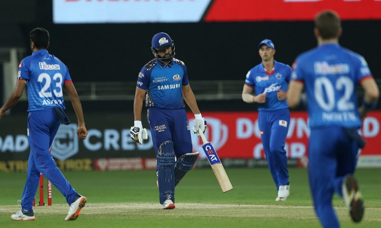 Rohit Sharma now has the joint most ducks in IPL alongside Parthiv Patel and Harbhajan Singh