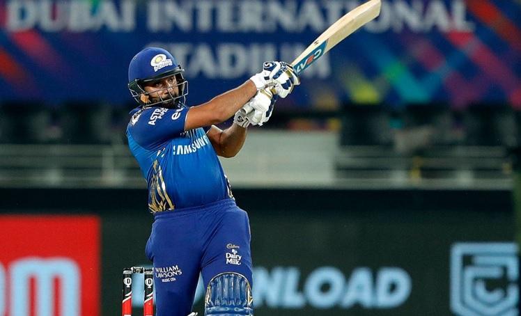 Mumbai Indians 88/1 after 10 overs in ipl 2020 final