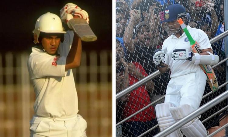 Sachin Tendulkar Makes International Debut