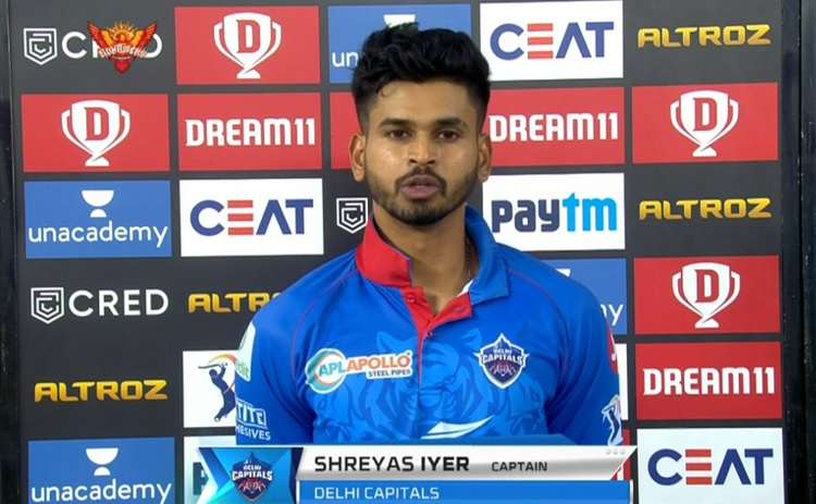 I'm really proud of my boys says Delhi Capitals skipper Shreyas Iyer