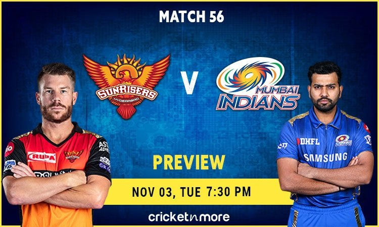 Sunrisers Hyderabad vs Mumbai Indians Preview and Probable XI