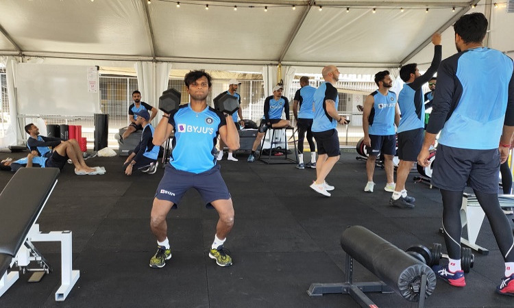 Team India Training