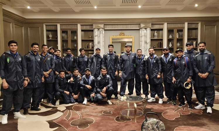 Team India Leaves For Australia Without Rohit Sharma, Watch Pics
