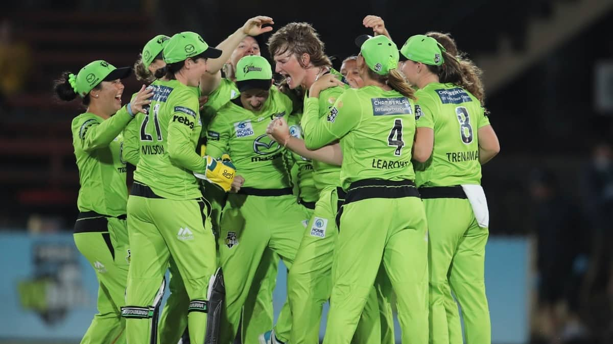 Thunder Thrash Stars To Clinch Second WBBL Title(Match Report)