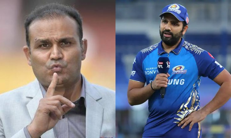 Virender Sehwag and Rohit Sharma