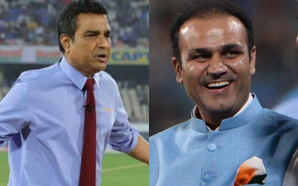 Virender Sehwag had fun with Sanjay Manjrekar during the commentary reminded him of his Twitter war