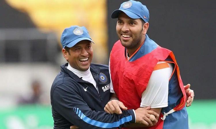 Yuvraj and Sachin