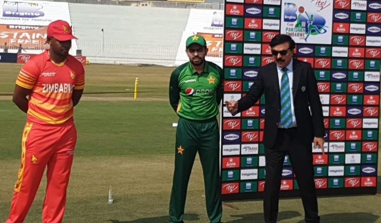 Zimbabwe opt to bat first against Pakistan in third odi