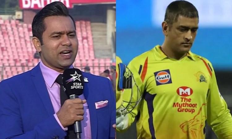 aakash chopra and ms dhoni