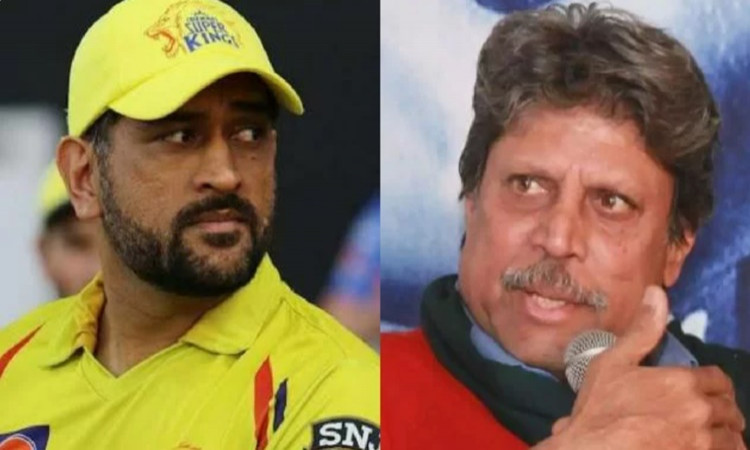 former Indian cricketer Kapil dev says MS Dhoni should go back to first-class cricket to perform in