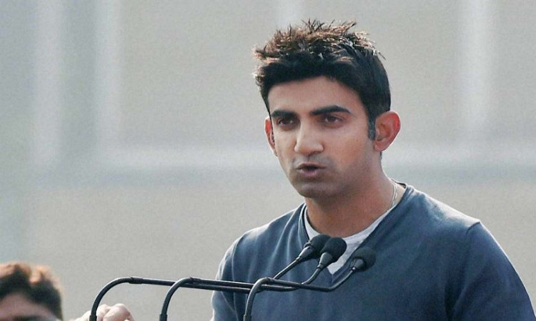 gambhir goes into self isolation after covid case at home