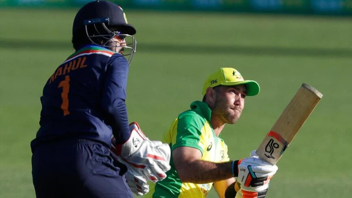 ind vs aus, 1st odi maxwell apologised to rahul while batting