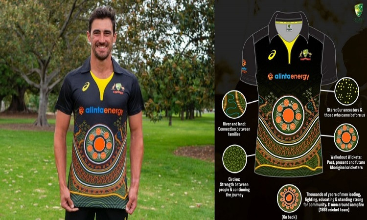 ind vs aus australian team announces special jersey for india t20is