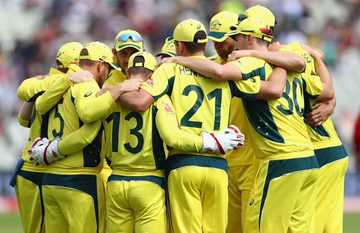 ind vs aus australian team will do a 'barefoot circle' when they take field against india
