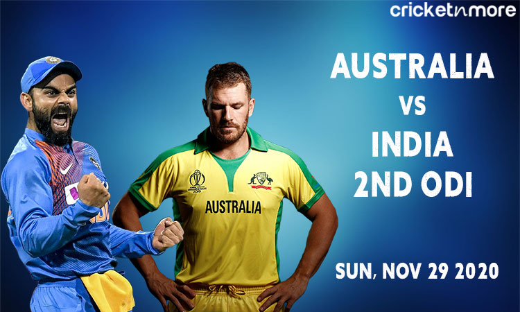 india tour of australia 2020-21 2nd odi in sydney probable playing xi for both the teams
