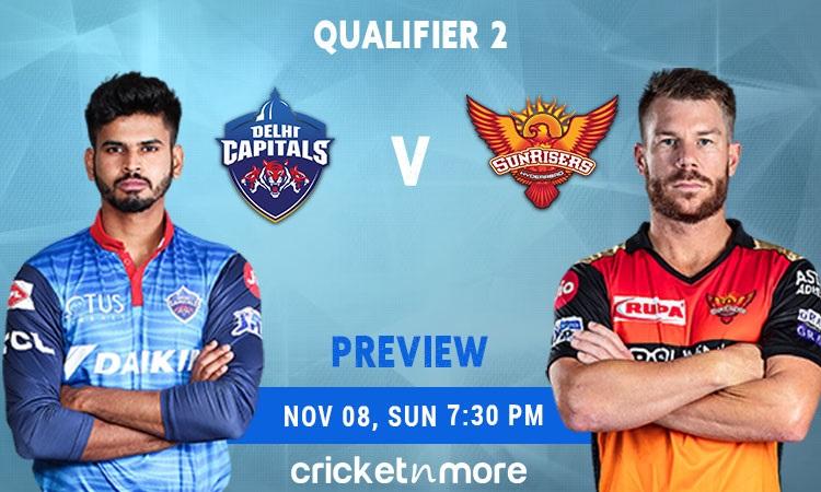 ipl 2020, qualifier 2 delhi capitals vs sunrisers hyderabad fantasy cricket tips prediction pitch re