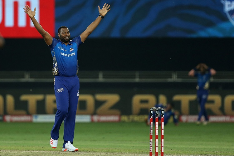 ipl 2020 final dwayne bravo you are behind me now says pollard after mi win 5th ipl title