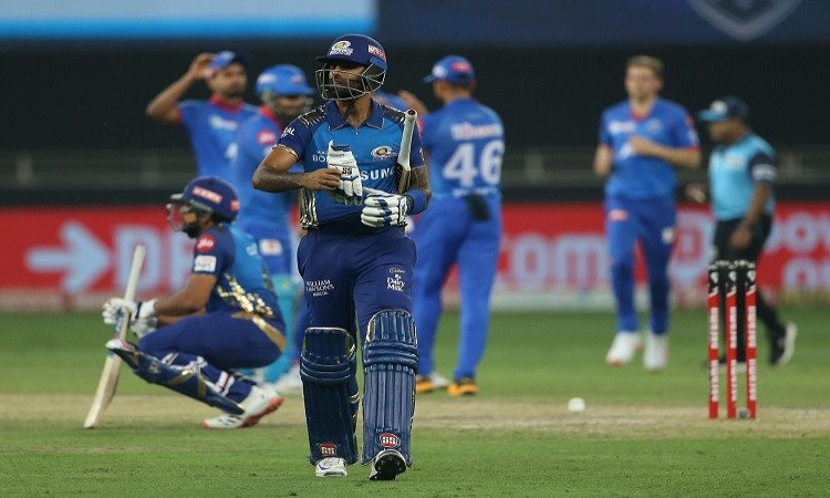 ipl 2020 final we chatted in bus about breaking consecutive titles jinx says suryakumar