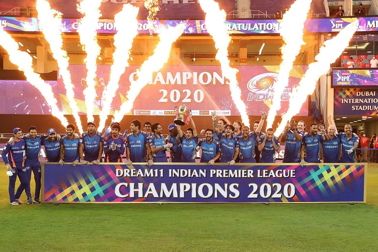 ipl 2020 fourth instance when a team finished first in points table also won the trophy