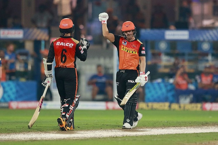 ipl t20 points table after hyderabad's 10 wicket win over mumbai