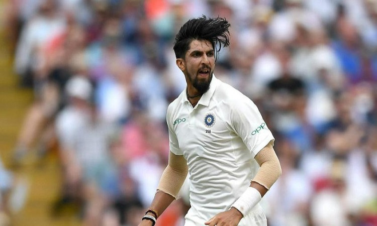 ishant sharma resumes bowling at nca