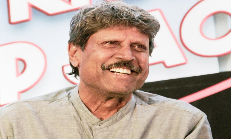 kapil dev back at the golf course post heart surgery