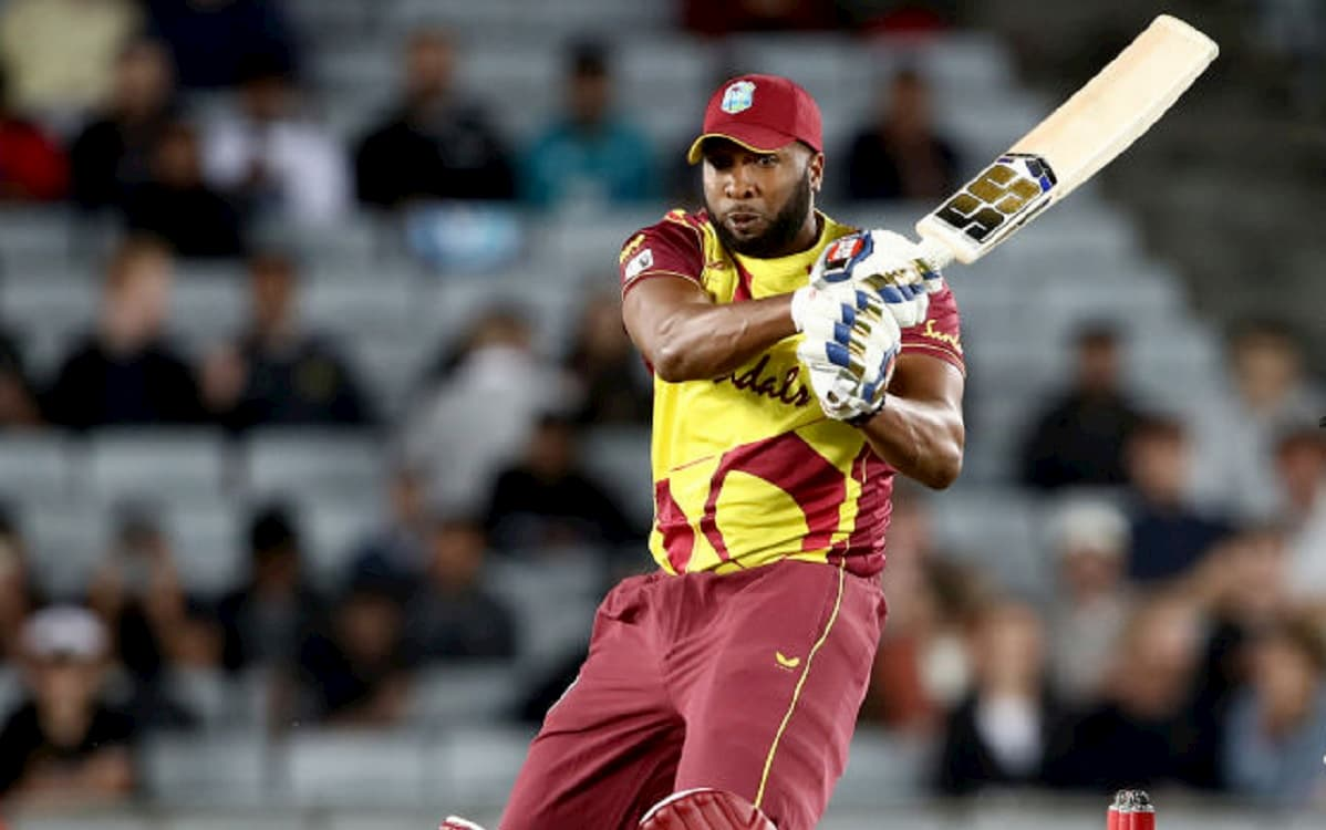 Kieron Pollard makes 75 from 37 balls with 8 sixes as west indies set 181 target for New Zealand