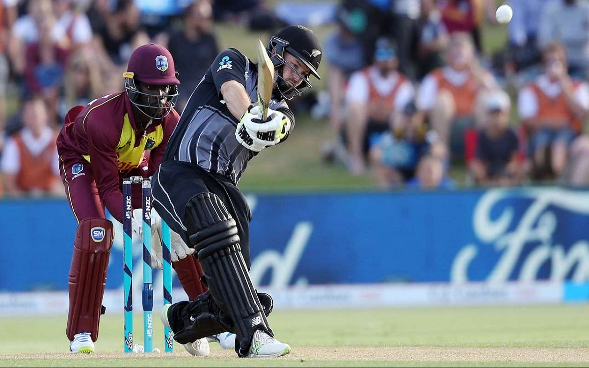 nz vs wi third t 20 washed out kiwi won the series by 2-0
