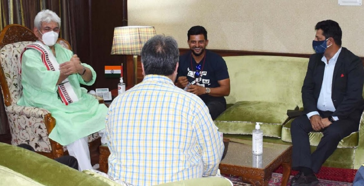 suresh raina cricket academy and j&k sports council sign mou