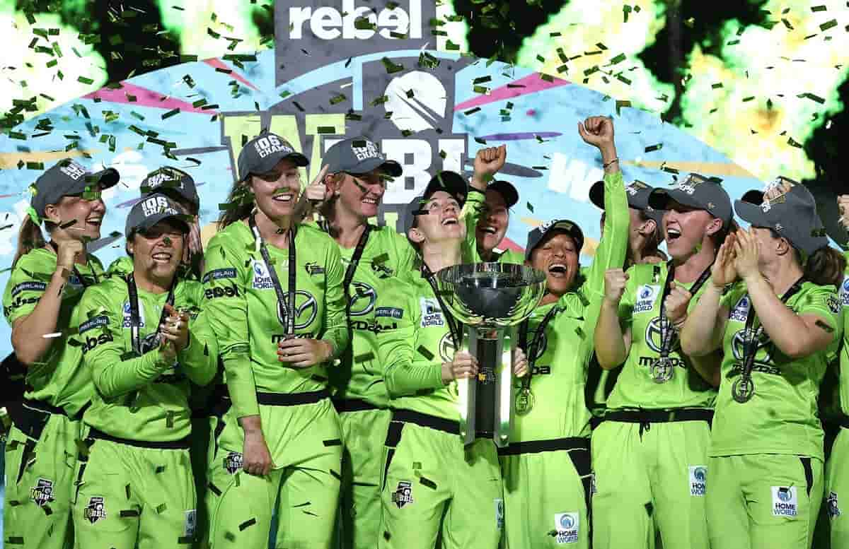 wbbl syndey thunder clinch the title for second time