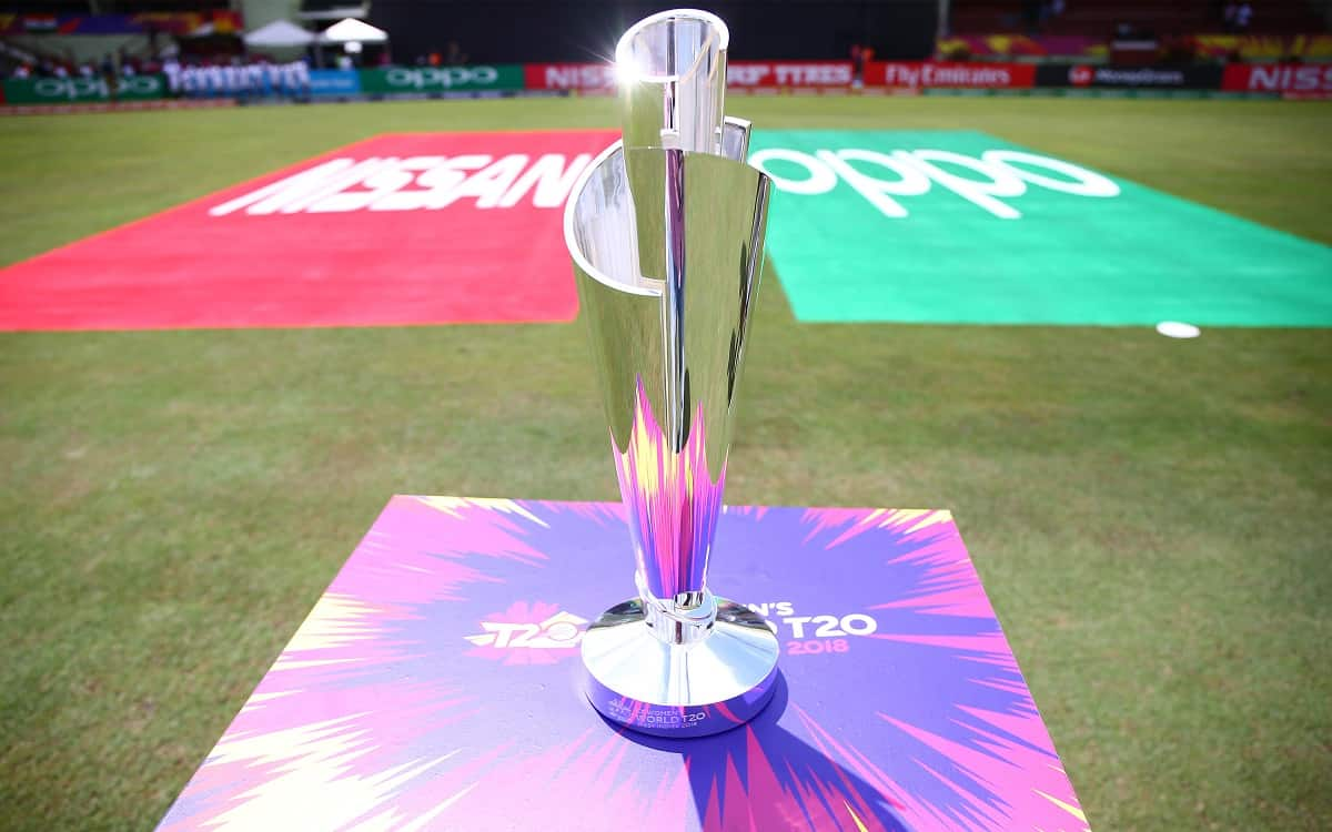 Image of cricket T 20 World Cup Trophy