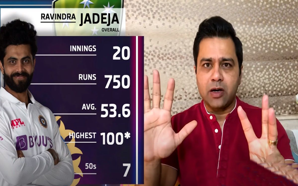 Aakash Chopra talks about Ravindra Jadeja performances as an all rounder