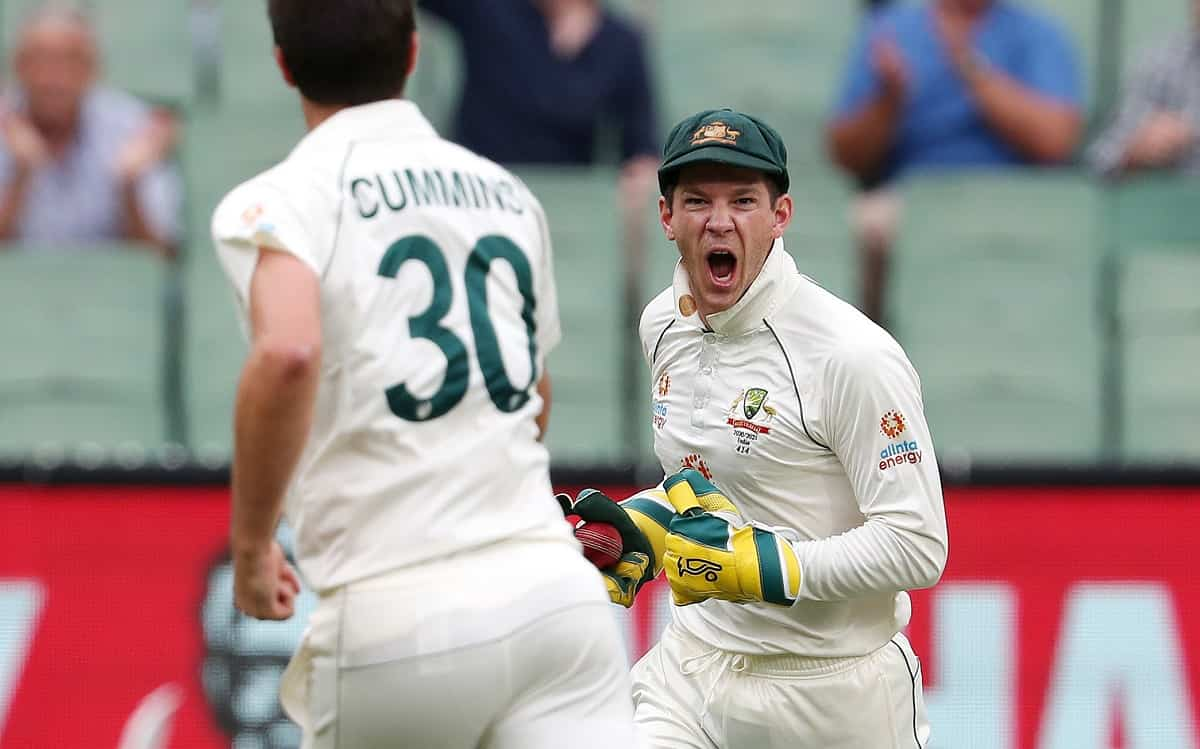 Tim Paine is now the fastest wicketkeeper to 150 dismissals in Test cricket
