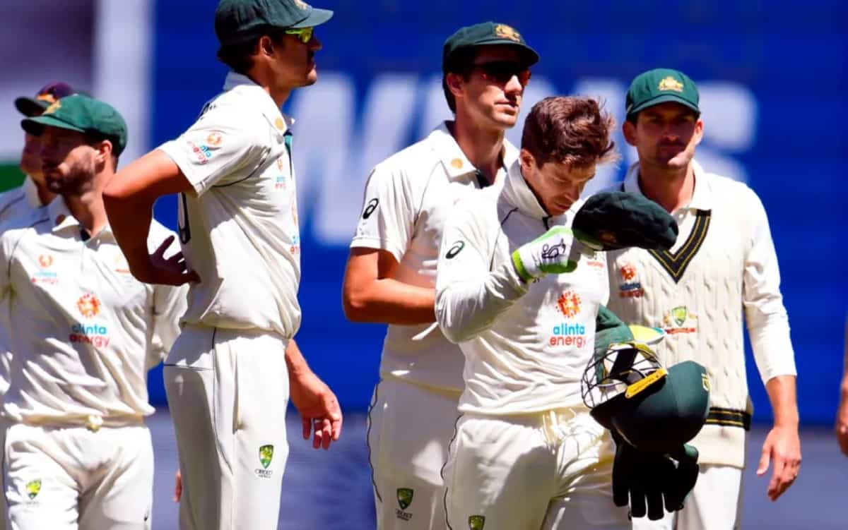 Australia fined for slow over-rate in second Test vs India