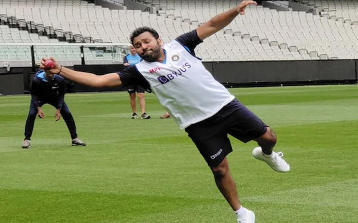 Australia vs India Rohit Sharma Gears Up For Sydney Test Watch photos Pics