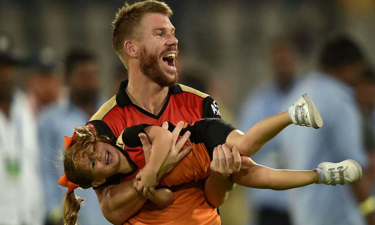 Australian cricketer David Warner praises his SRH teammate Priyam Garg in hindi