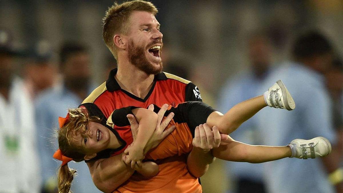 Australian cricketer David Warner praises his SRH teammate Priyam Garg in hindi