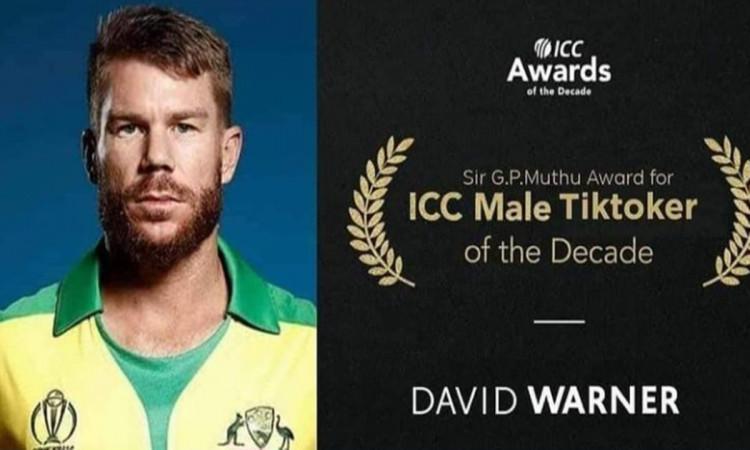 cricket images for David Warner Shares funny post on Instagram