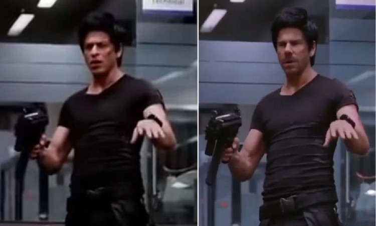 David Warner became Shah Rukh Khan in his latest Acting video, Watch out here