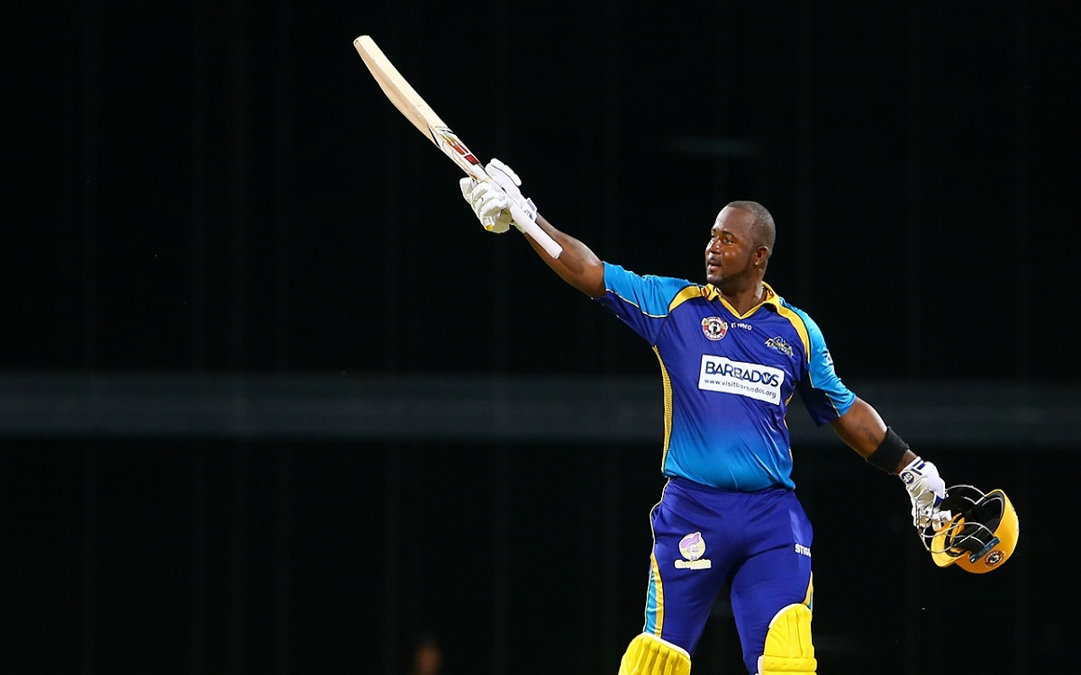 west indies player Dwayne Smith hits Six Sixes In An Over of his brother Kemar Smith in Ten10 Classi