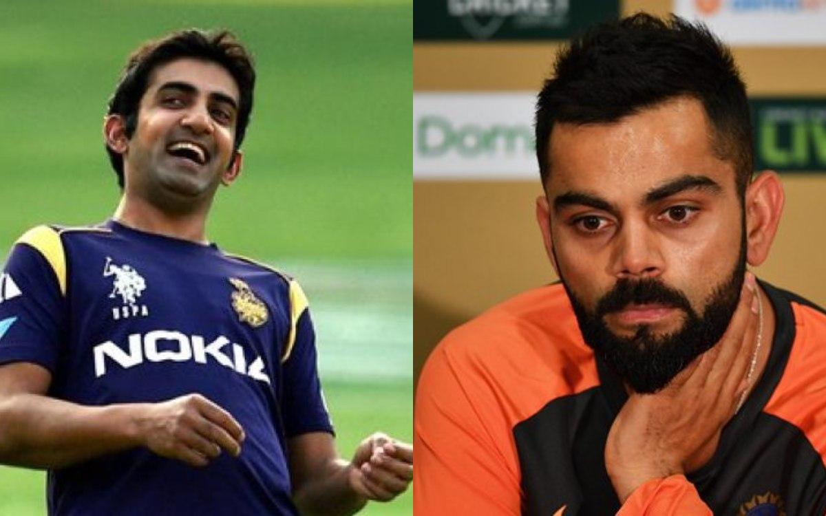 Gautam Gambhir gets trolled After He Praises indian captain Virat Kohli in hindi
