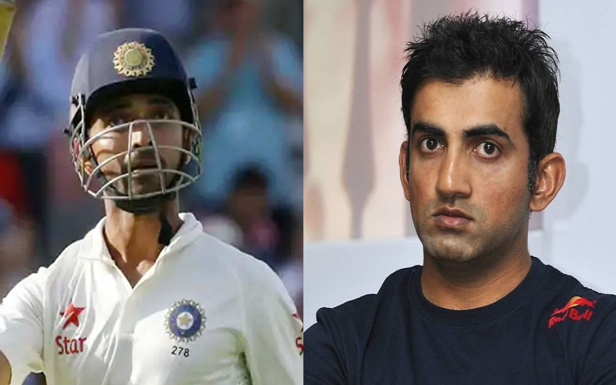 Gautam Gambhir says There will be a lot of pressure on Ajinkya Rahane