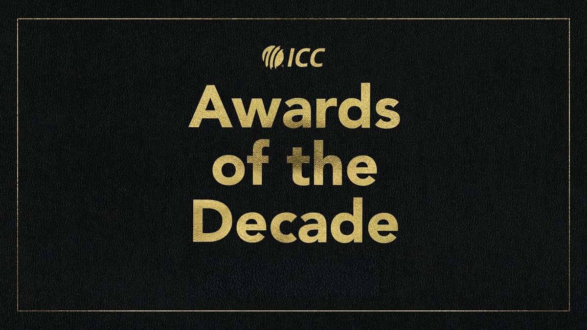 ICC Decade Awards will be announced on 28th December