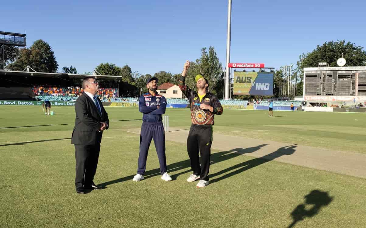 Australia opt to bowl first against India in 1st T20I
