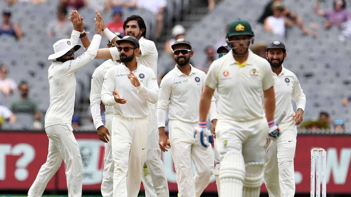 India vs Australia Head To Head In Test