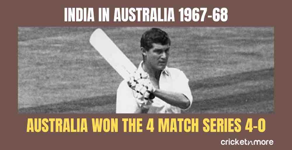 India In Australia 1967 68 Images in Hindi