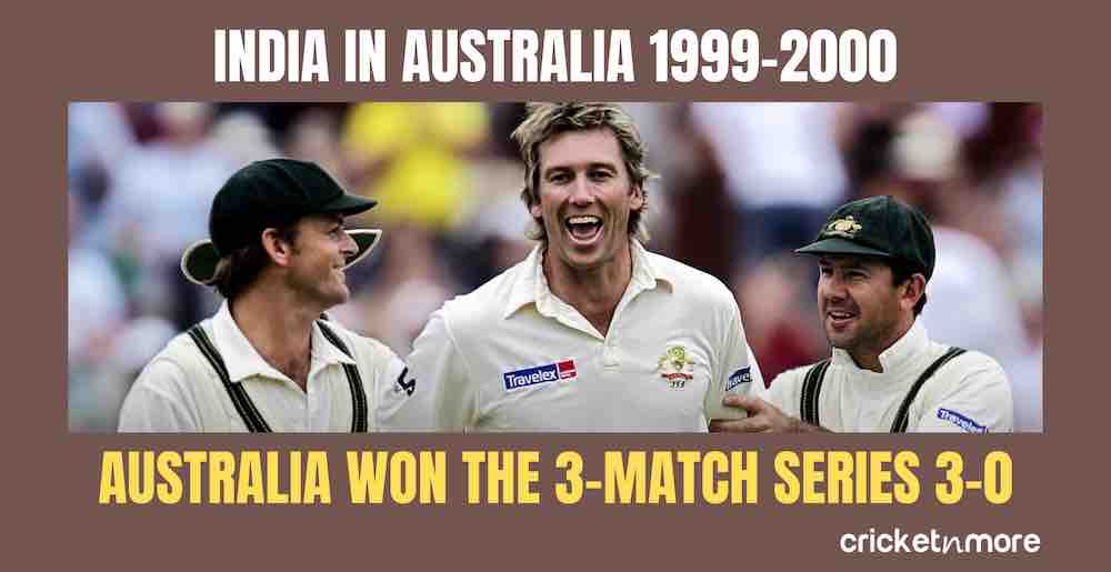India In Australia 1999 2000 Images in Hindi