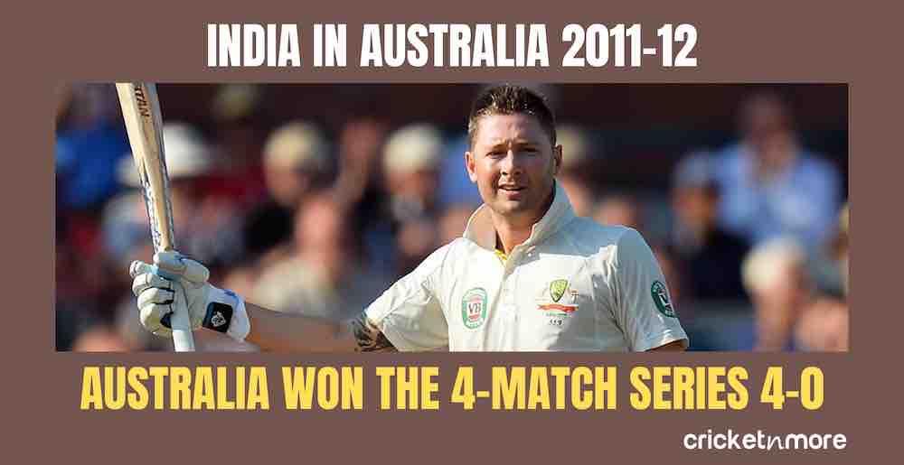 India In Australia 2011 12 Images