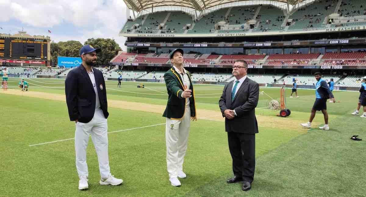 India vs Australia Adelaide Test