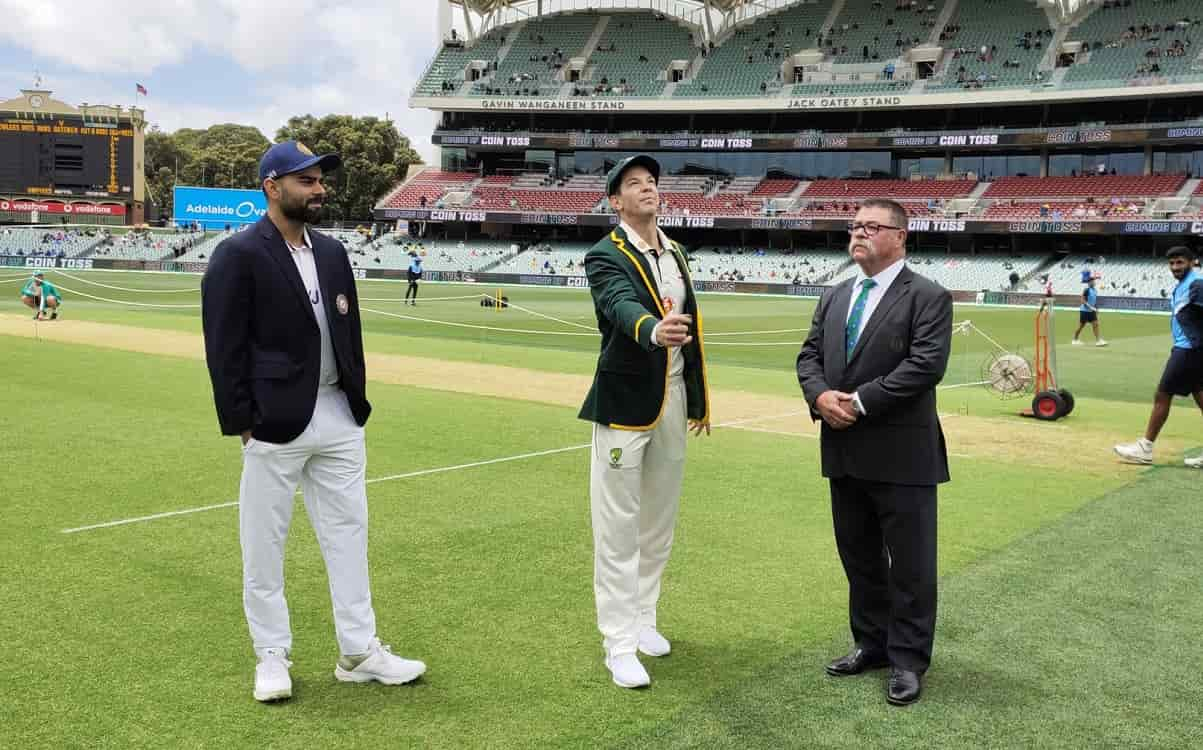 India elected to bat in first test against australia